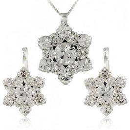 MHM Souprava šperků Riana Crystal 34185 stříbro 925/1000