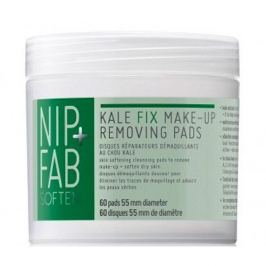 NIP + FAB Odličující tampony Kale (Make-up Removing Pads) 60 ks