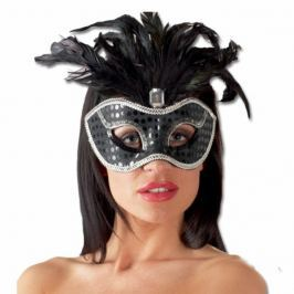 Maska - S peřím