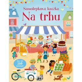Na trhu -  Samolepková knížka