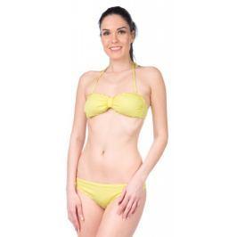 Pepe Jeans dámské plavky Flower Swim S žlutá