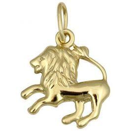 Brilio Zlatý přívěsek Lev 241 001 00814 - 0,35 g zlato žluté 585/1000