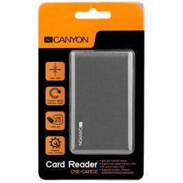 Canyon CardReader All in one, šedý (CNE-CARD2)
