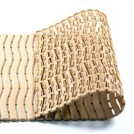 Béžová bazénová rohož - 120 x 60 x 0,9 cm
