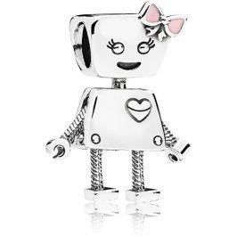 Pandora Stříbrný přívěsek Robotka Bella 797141EN160 stříbro 925/1000