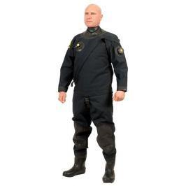 VIKING TRELLEBORG Oblek suchý VTS POLYESTER - přední zip s latexovou kuklou, Viking, EXL