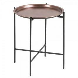 Design Scandinavia Odkládací stolek Sorby, 40 cm, měď