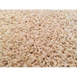 Kusový koberec Color Shaggy béžový, průměr 200 cm