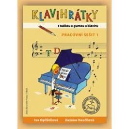 KN Klavihrátky - s tužkou a gumou u klavíru - pracovní sešit 1 Škola hry na klavír