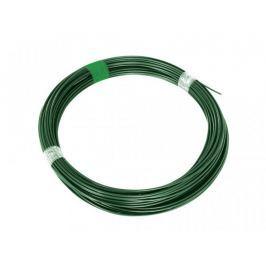 Napínací drát Zn+PVC - zelený, délka 78 m
