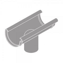 LanitPlast Kotlík DN 150/125 půlkulatý šedá barva