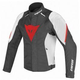 Dainese bunda LAGUNA SECA D1 D-DRY vel.58 černá/bílá/červená, textilní