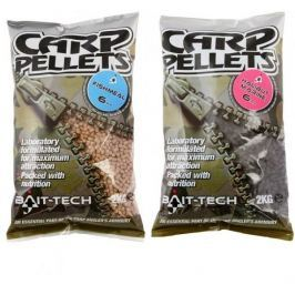 Bait-Tech pelety hallibut carp fishmeal feed pellets 2 mm 2 kg