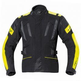 Held pánská bunda 4-TOURING vel.3XL černá/fluo žlutá, textilní REISSA