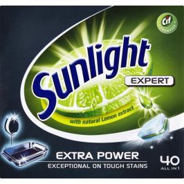 Sunlight All in 1 Extra Power Tablety do myčky nádobí 40 ks