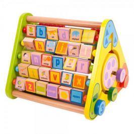 Bigjigs Toys Aktivní trojúhelník s angličtinou - II. jakost