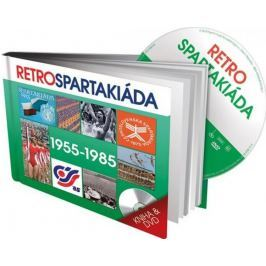 Retro Spartakiáda 50. - 80. léta   - kniha & DVD