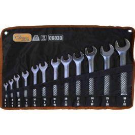 CORONA Sada plochých klíčů 6-32 mm 12 Ks chrom