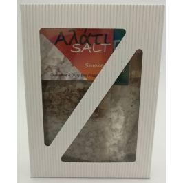 Vločky ochucené mořské soli, tři druhy vdárkové krabičce