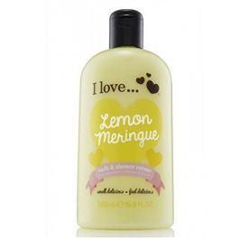 I Love Cosmetics Koupelový a sprchový krém s vůní citronové sněhové pusinky (Lemon Meringue Bath & Shower Creme) 500