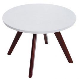 BHM Germany Konferenční stolek Erik, 60 cm, nohy cappuccino