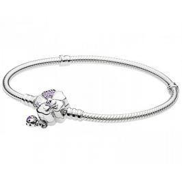Pandora Stříbrný náramek Rozkvetlá louka 597124NLC (Délka 17 cm) stříbro 925/1000