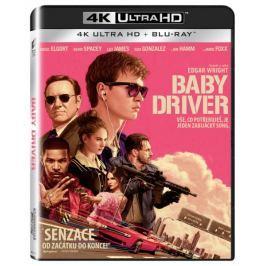 Baby Driver (2 disky) - Blu-ray + 4K ULTRA HD