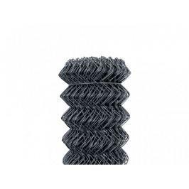 Čtyřhranné pletivo Zn+PVC 50 (kompakt, bez ND) - výška 200 cm, antracit, 25 m