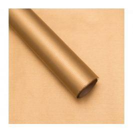 Balicí papír, natura, zlatý, 5 archů