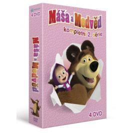 Máša a medvěd 5-8: Kolekce (4DVD)   - DVD