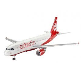 Revell ModelSet 64861 Airbus A320 AirBerlin (1:144)