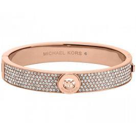 Michael Kors Luxusní broznový náramek s krystaly MKJ4000791