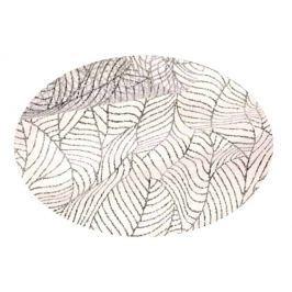 EverGreen Dekorační organza lístky stříbrná 2 x 1,5 m