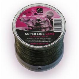 Lk Baits Vlasec Super Line Camo 0,24 mm, 4,88 kg