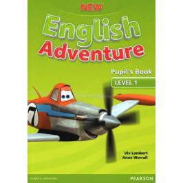 Worrall Anne: New English Adventure 1 Pupil´s Book and DVD Pack