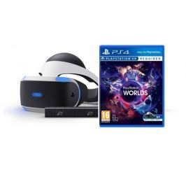 Sony PlayStation VR + Camera v2 + VR Worlds