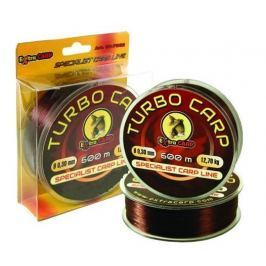 Extra Carp Vlasec Turbo Carp Brown 600 m 0,26 mm, 8,7 kg