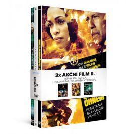 Kolekce 3x Akční film II (3DVD): Nezahrávej si s ohněm + Temný stín nad L.A. + Timecop 2   - DVD