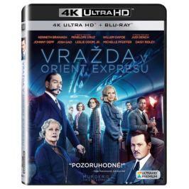 Vražda v Orient expresu (2 disky) - Blu-ray + 4K ULTRA HD