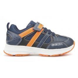 Geox chlapecké tenisky Top Fly 27 modrá/oranžová