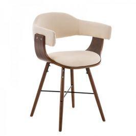 BHM Germany Jídelní / jednací židle dřevěná Dancer II. (SET 2 ks), krémová