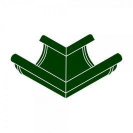 LanitPlast Roh vnější RG 100 půlkulatý zelená barva