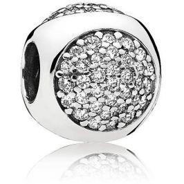 Pandora Třpytivý stříbrný korálek 796214CZ stříbro 925/1000