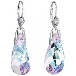 Preciosa Náušnice Crystal Beauty Vitrail Light 6801 43 stříbro 925/1000
