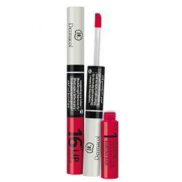 Dermacol Dlouhotrvající barva na rty a lesk 2v1 16h Lip Colour (Odstín č.6 Temně růžová)