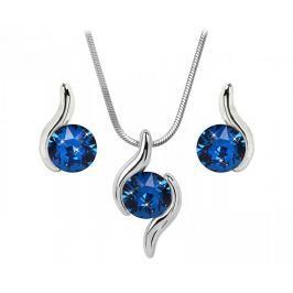 Troli Sada náhrdelníku a náušnic Chaton Wave Capri Blue
