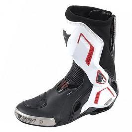 Dainese boty TORQUE D1 OUT vel.41 černá/bílá/červená (lava) (pár)