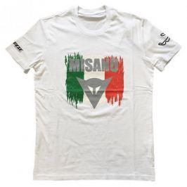 Dainese pánské triko MISANO D1 vel.XL bílá