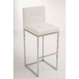 BHM Germany Barová židle Andrew (SET 2 ks), bílá