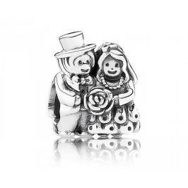 Pandora Stříbrný korálek Svatebčané 791116 stříbro 925/1000